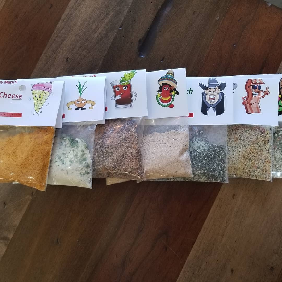 Spicy Mary Mixes