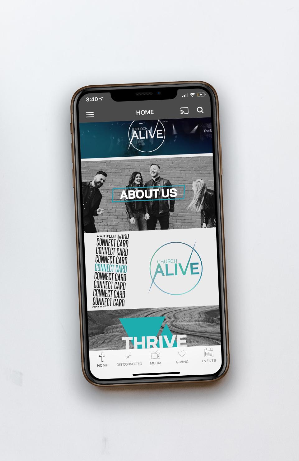 Mobile App -