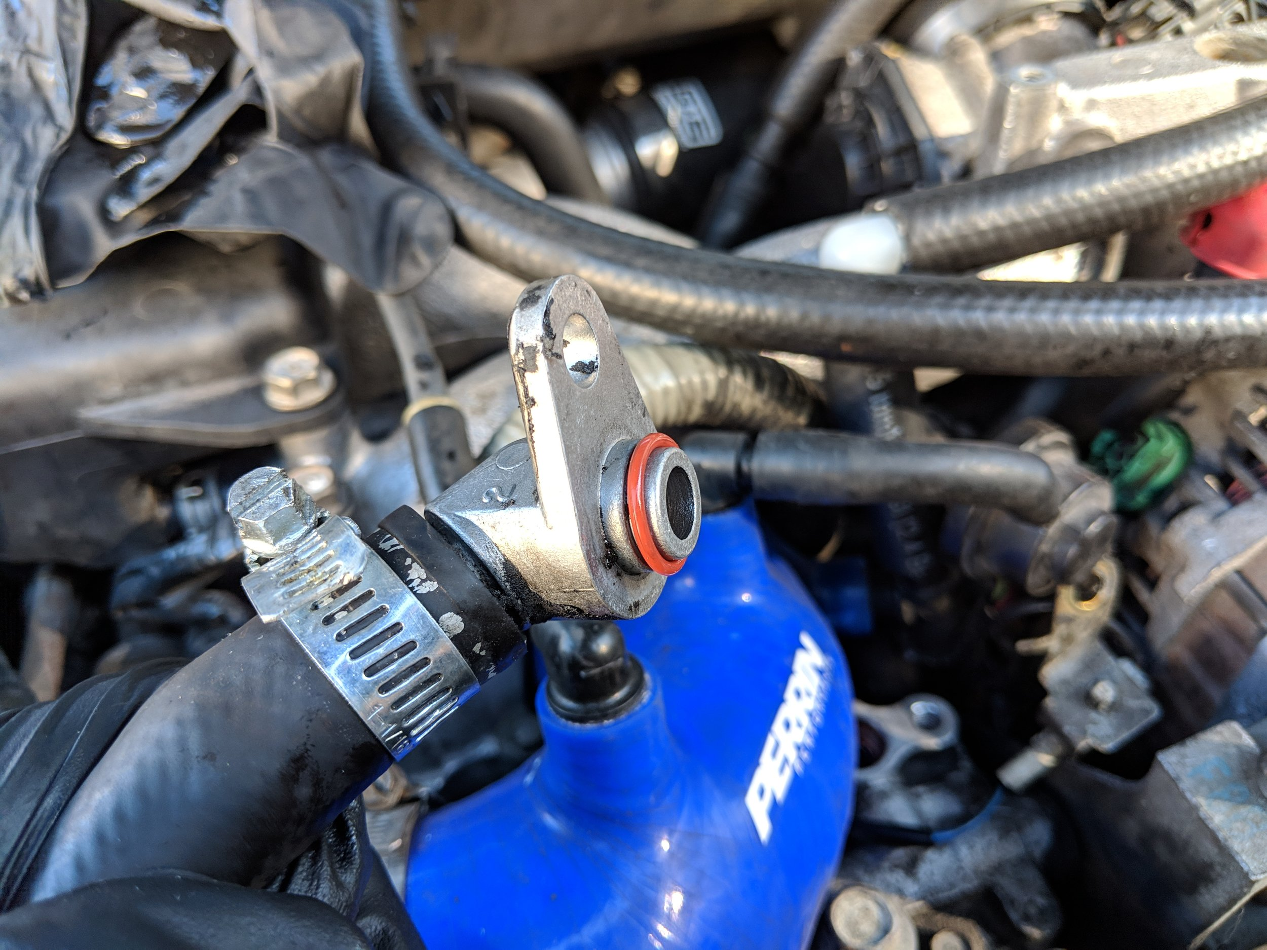 The most likely of culprits when it comes to noisy Subaru power steering pumps. Subaru O-ring 34439FG000