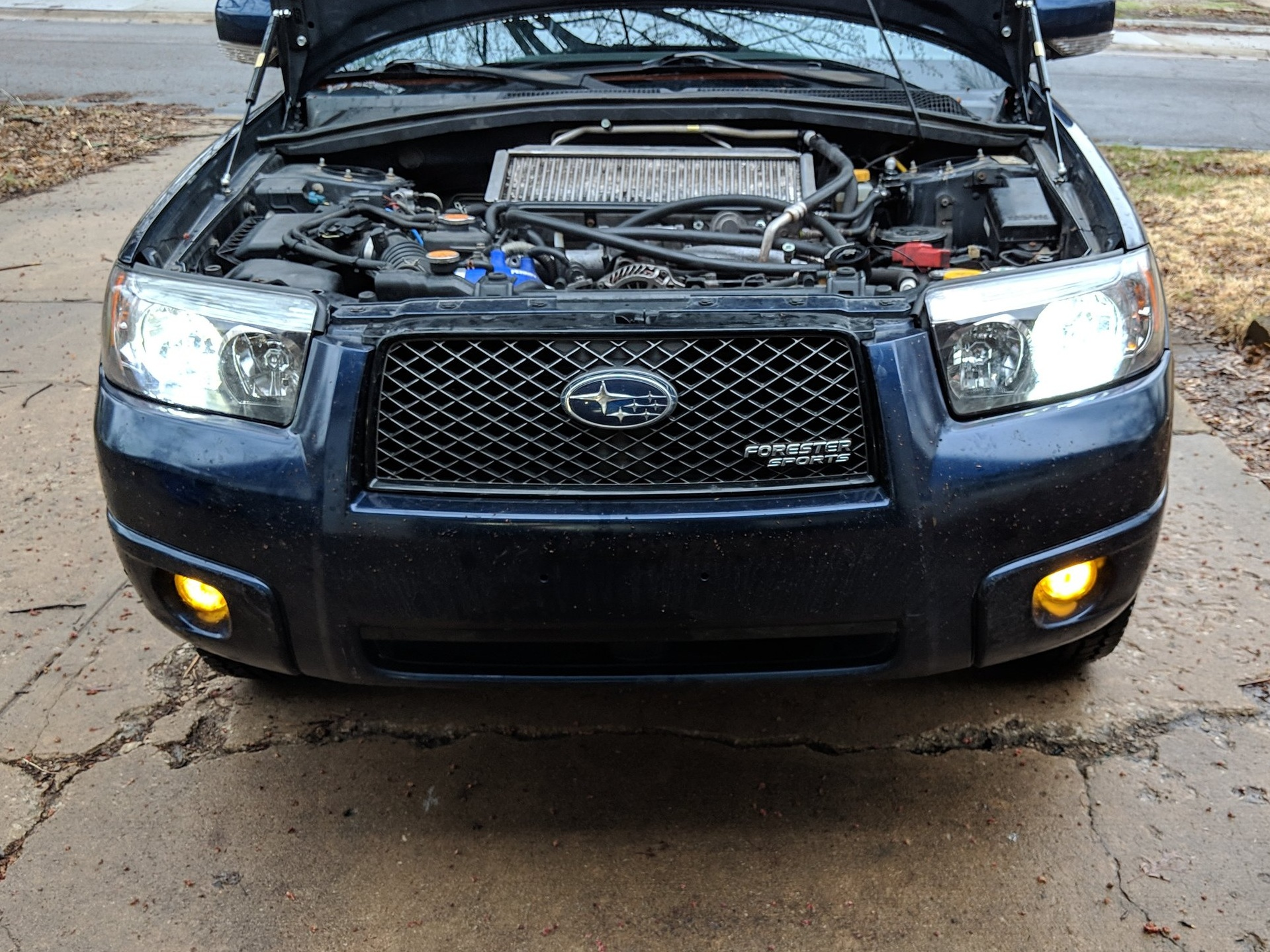 My project was to install my LED bulbs within the headlight assembly.