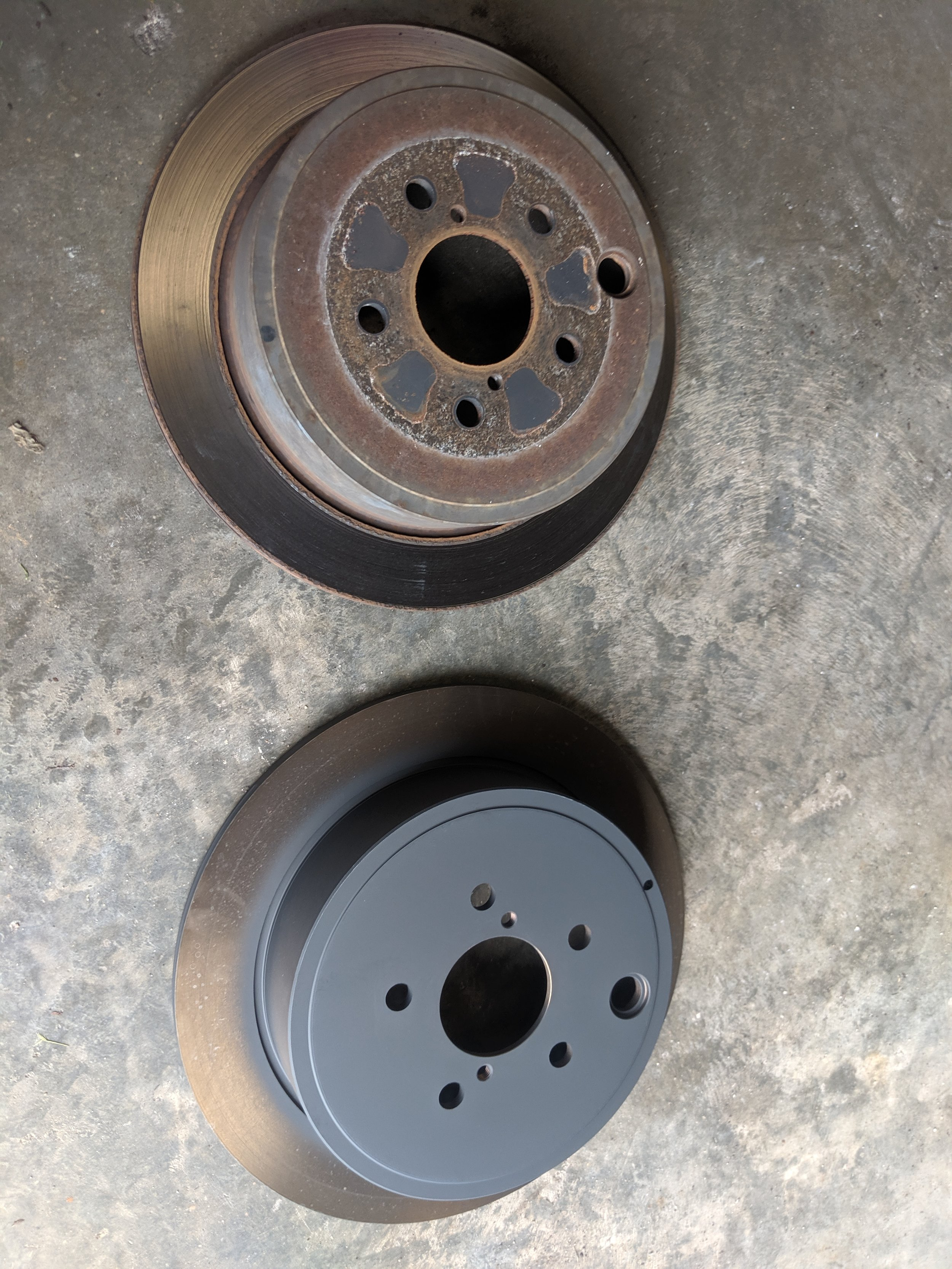 Fresh rotors from the mothership…