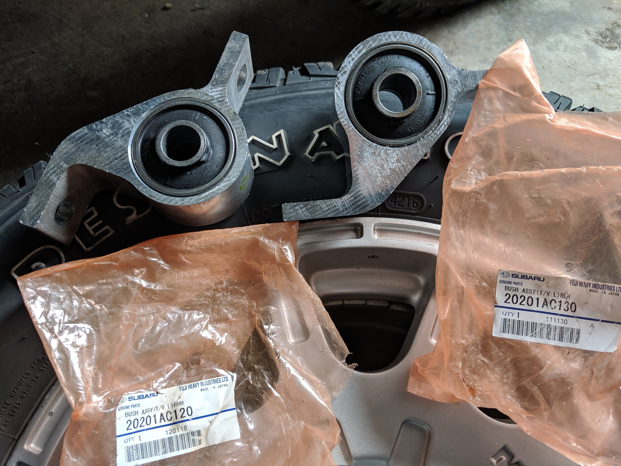 If you are replacing the control arms and these bushings are the original, it is a great time to upgrade these too!
