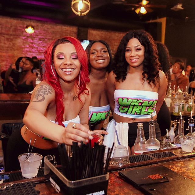 Join us tomorrow for #TacosTequilaAndTickles and enjoy 1/2 price top shelf tequila & $2 tacos 🌮served by the @wkndgirls_! Plus comedy sets by @comedianflashflood @deric.evanscomedian &  @saycollins! #EverydaystheWKND