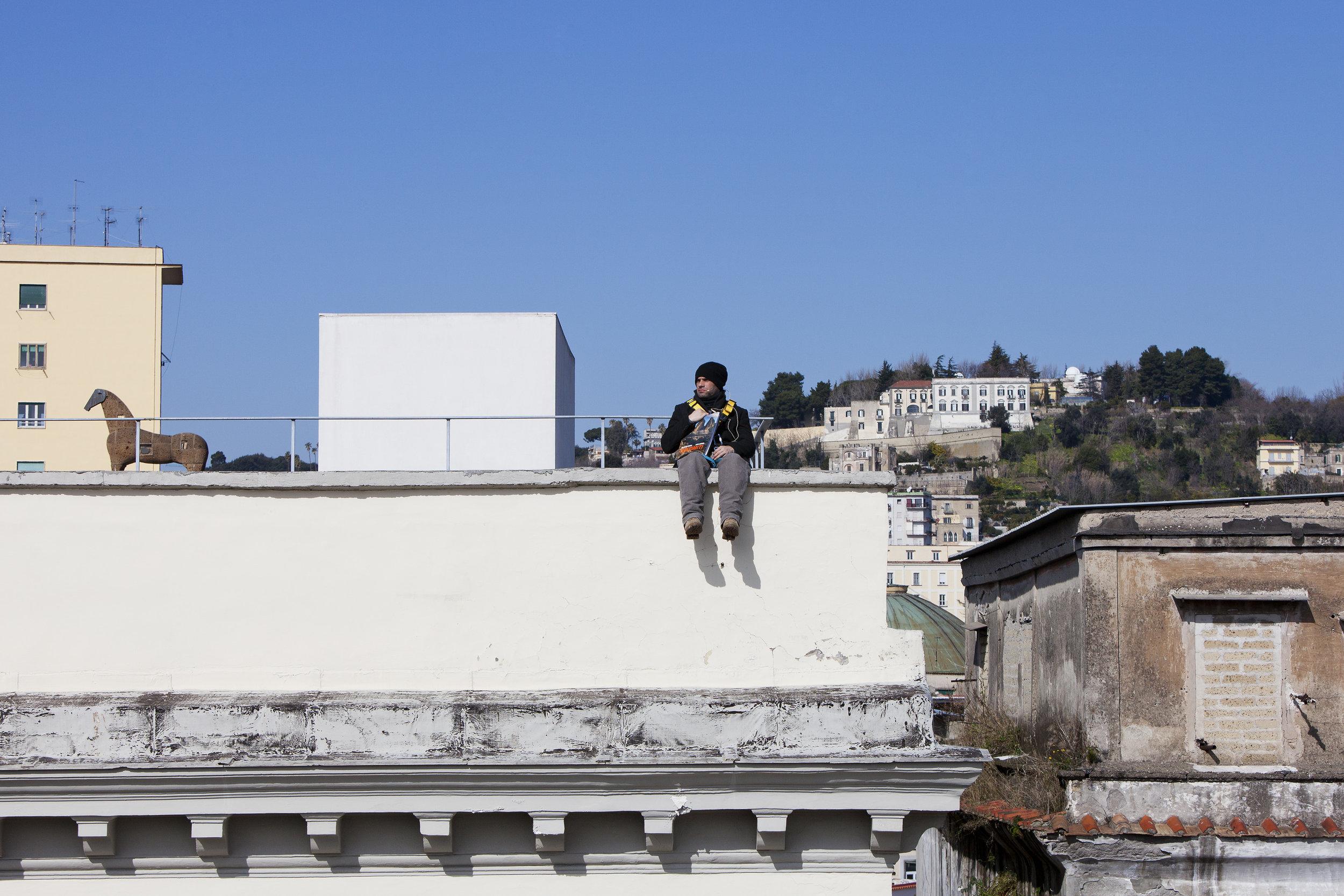 Cristian Chironi,  Eco , photo A. Benestante
