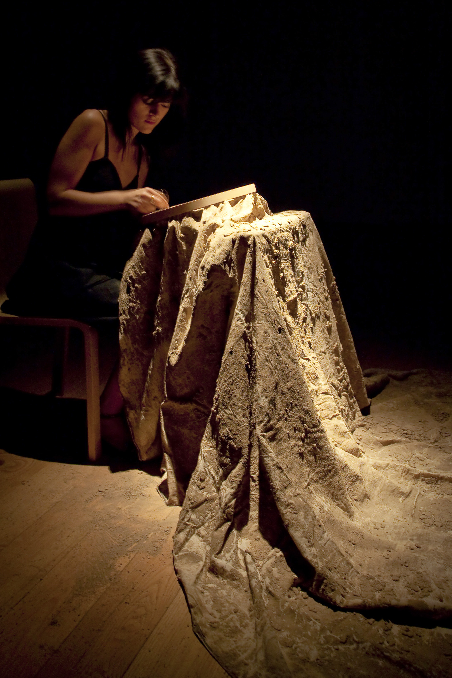 Teresa Margolles,  The Inability to Represent the Tragedy , photo A. Benestante