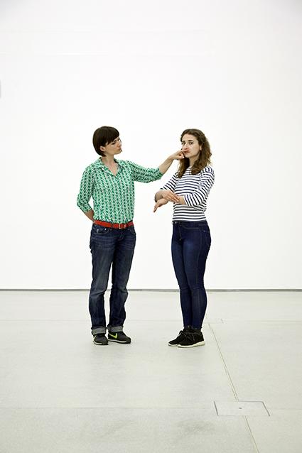 Alexandra Pirici & Manuel Pelmus,  Untitled , Photo G. Panareo