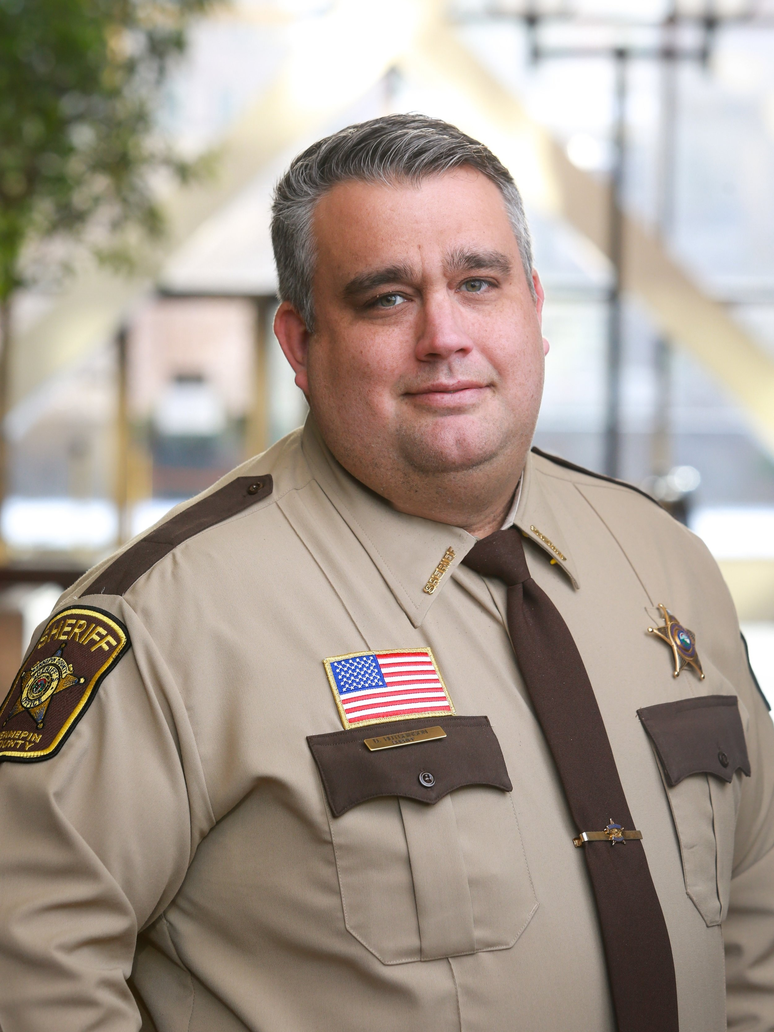 Hennepin County Sheriff David Hutchinson -