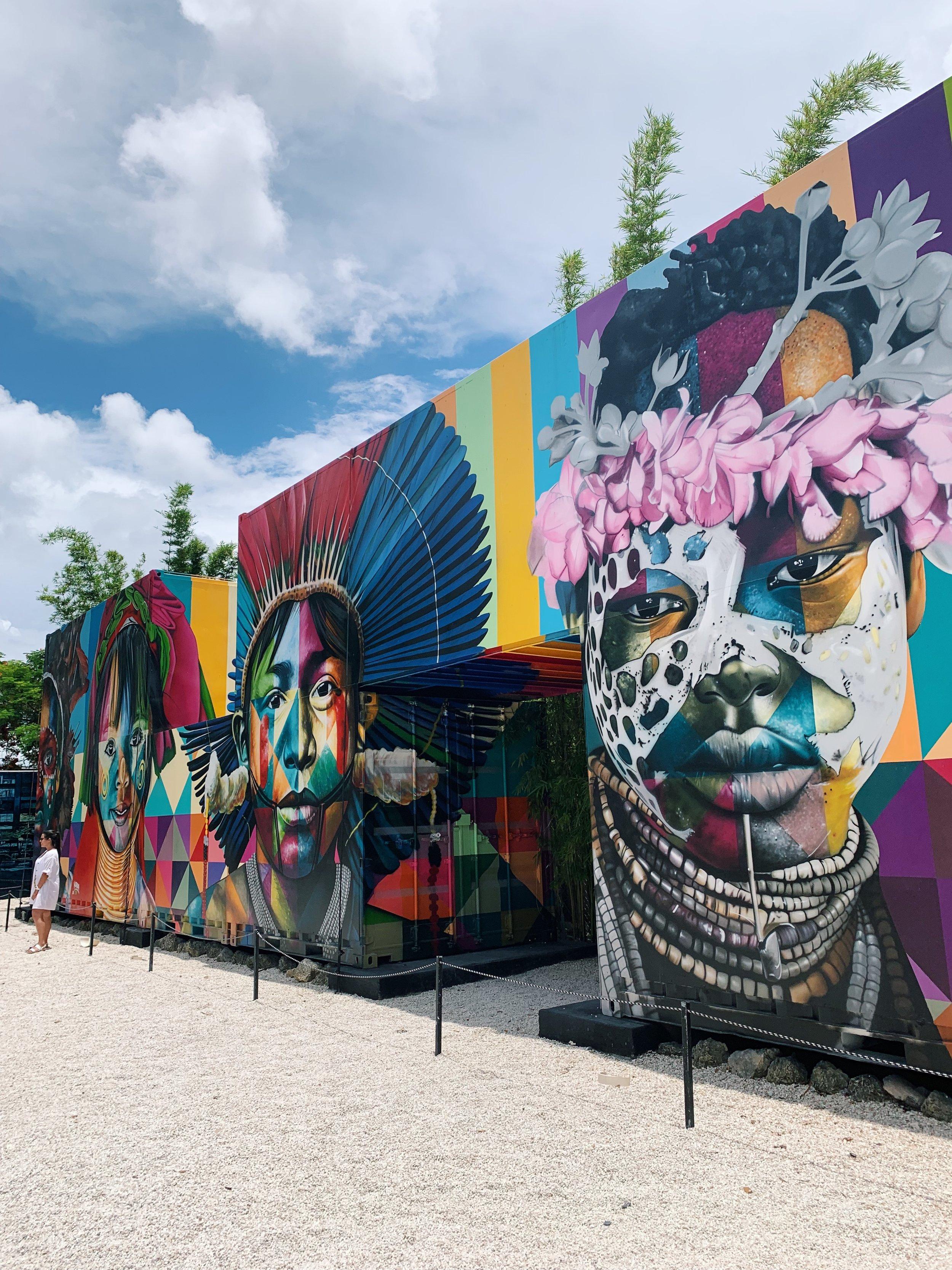 Murals by Eduardo Kobra | Wynwood Walls
