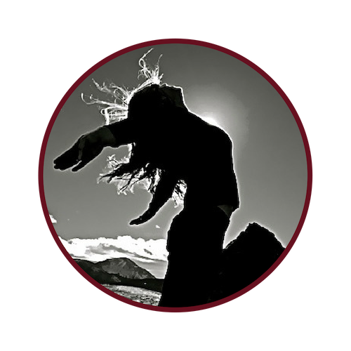 red frame woman dancing w sun bw.png