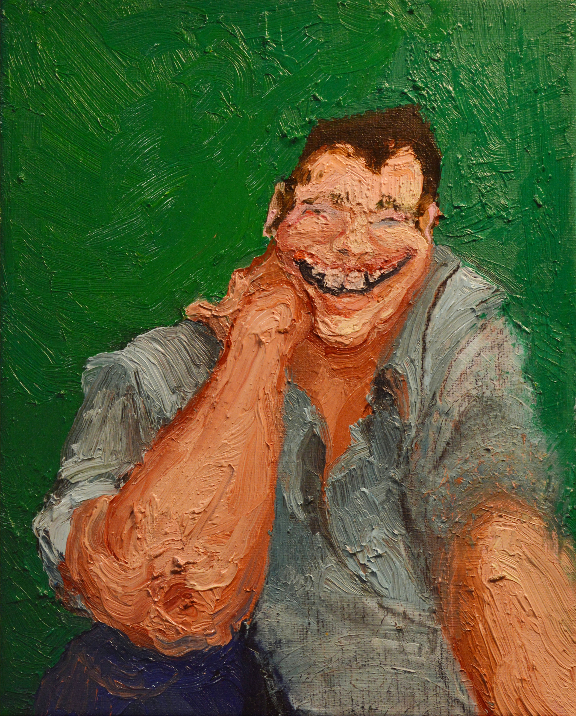 "Derrick  2016 8"" x 10"" oil on canvas"