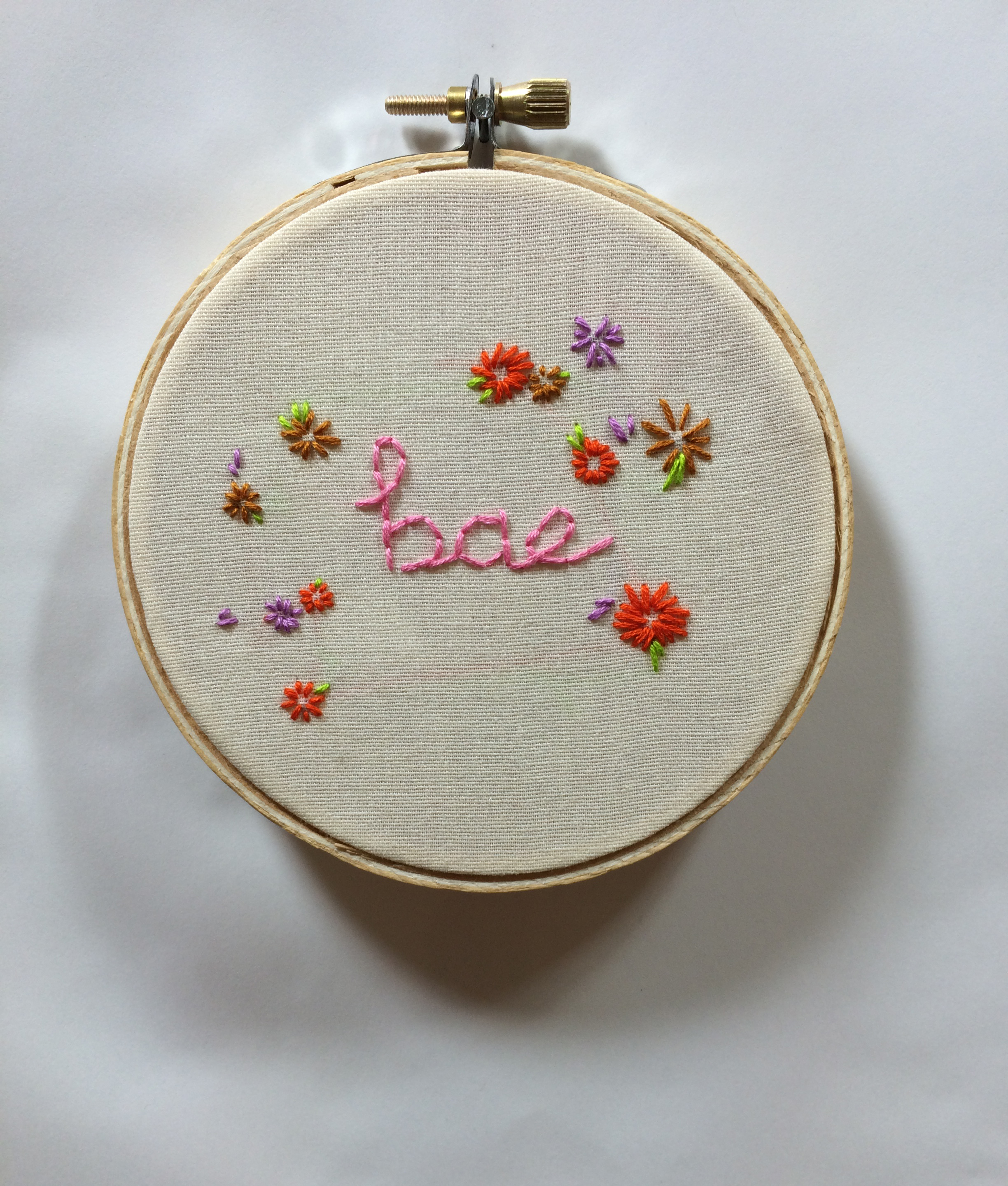 "Bae  2015 4"" embroidery"