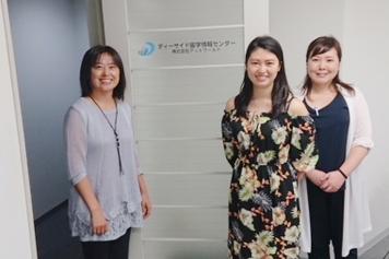仕事帰りに個別面談に参加してくれたNatsuさん(中央)。渡米は2020年を予定しています。