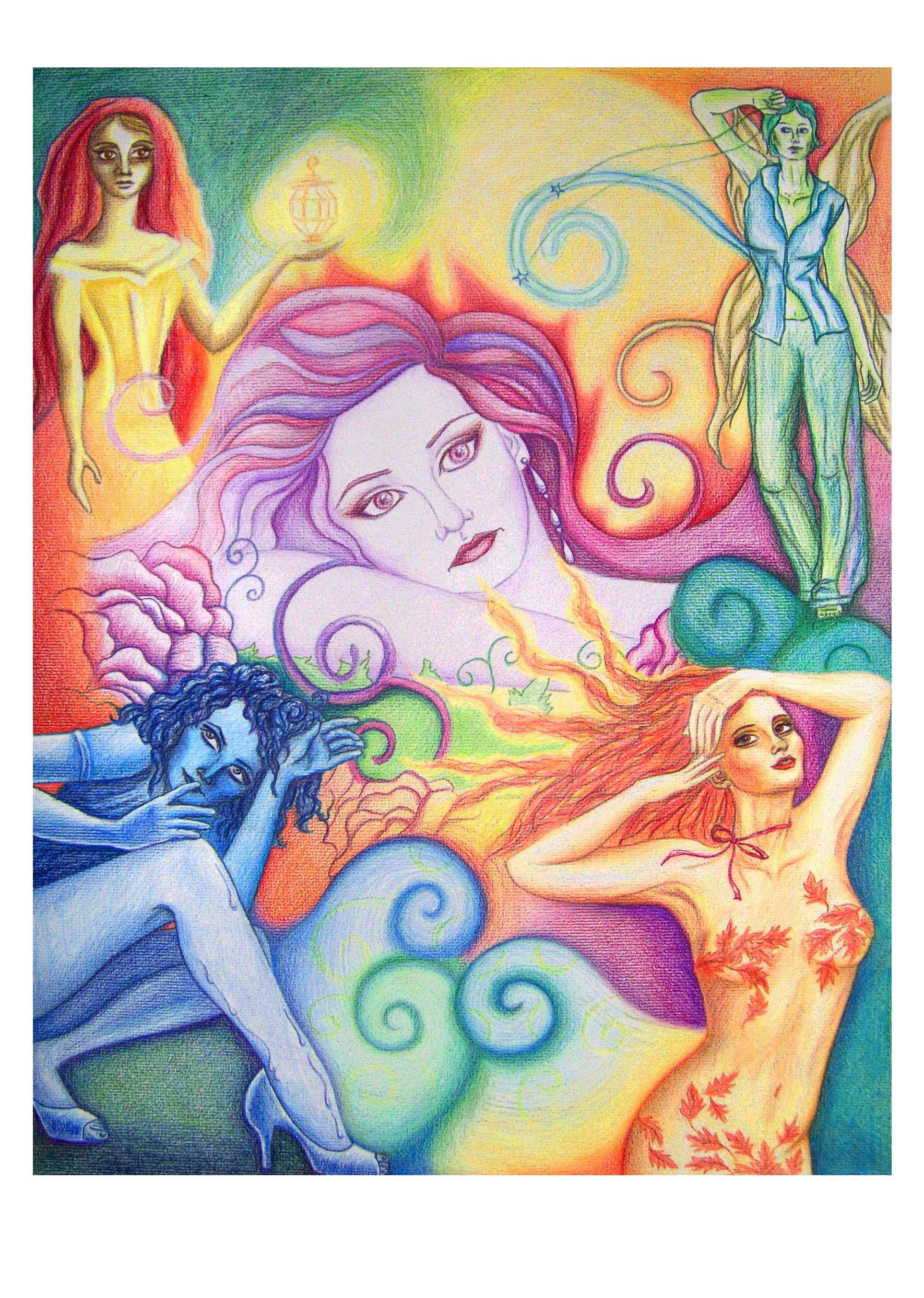 """""""Rainbow Women"""" -"""