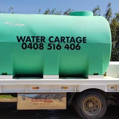 Water Tank (Cartage)