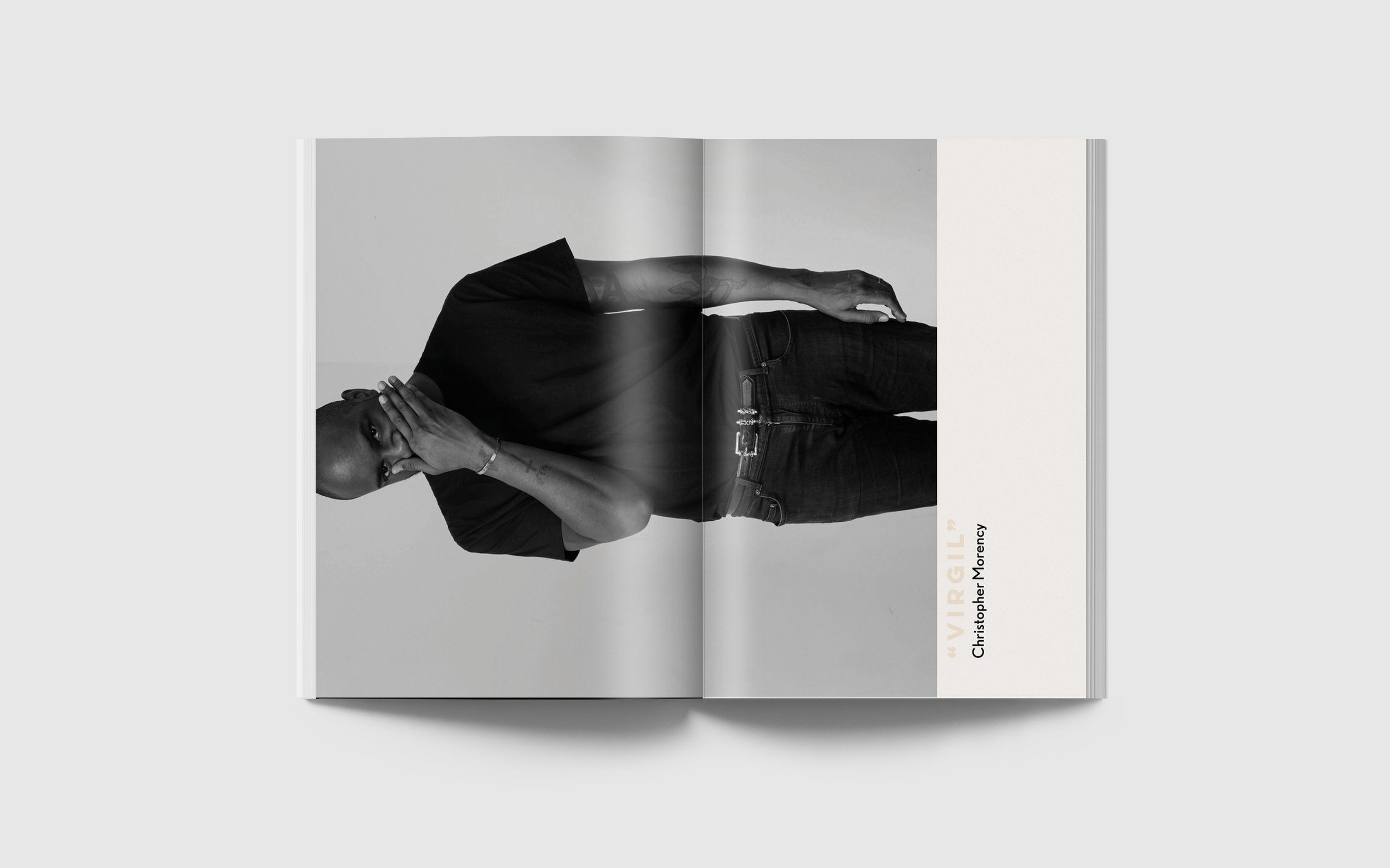 NEST Magazine redesign designed in collaboration with  Greyson Kelly , featuring an article about designer Virgil Abloh.