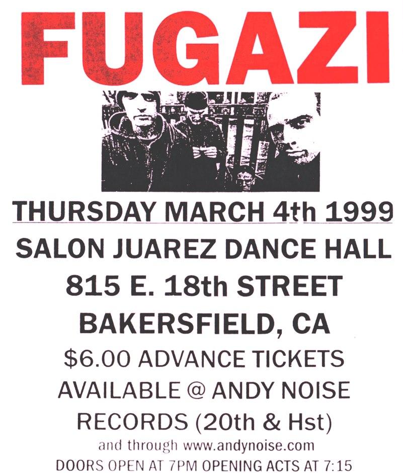 Bakersfield, CA. 1999. Salon Juarez Dance Hall.