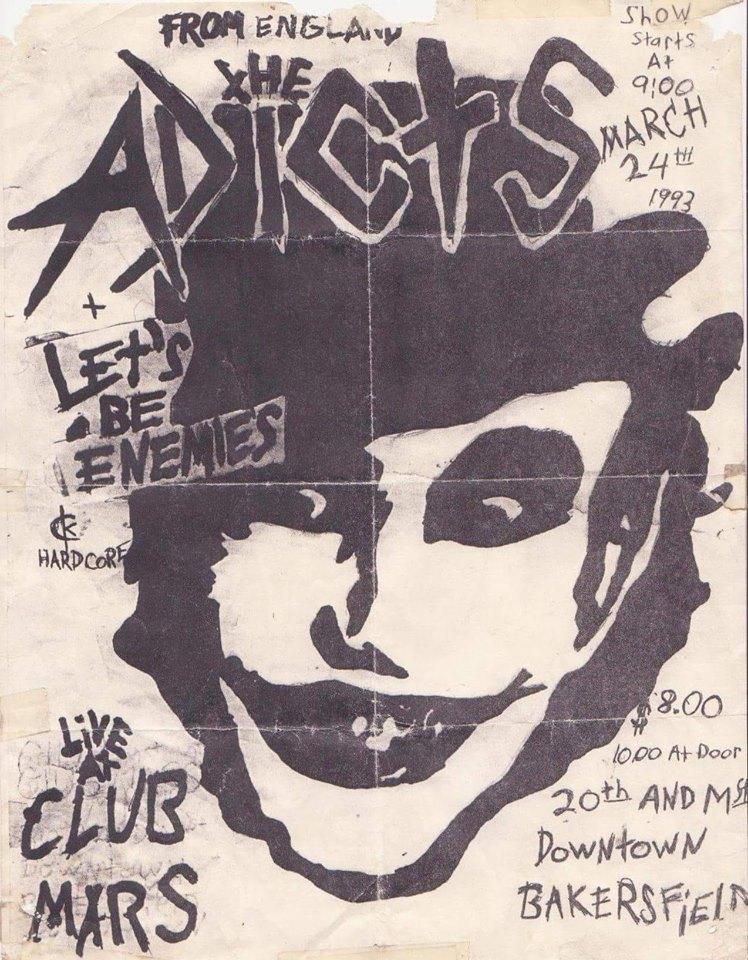 Bakersfield Club Mars Unknown year