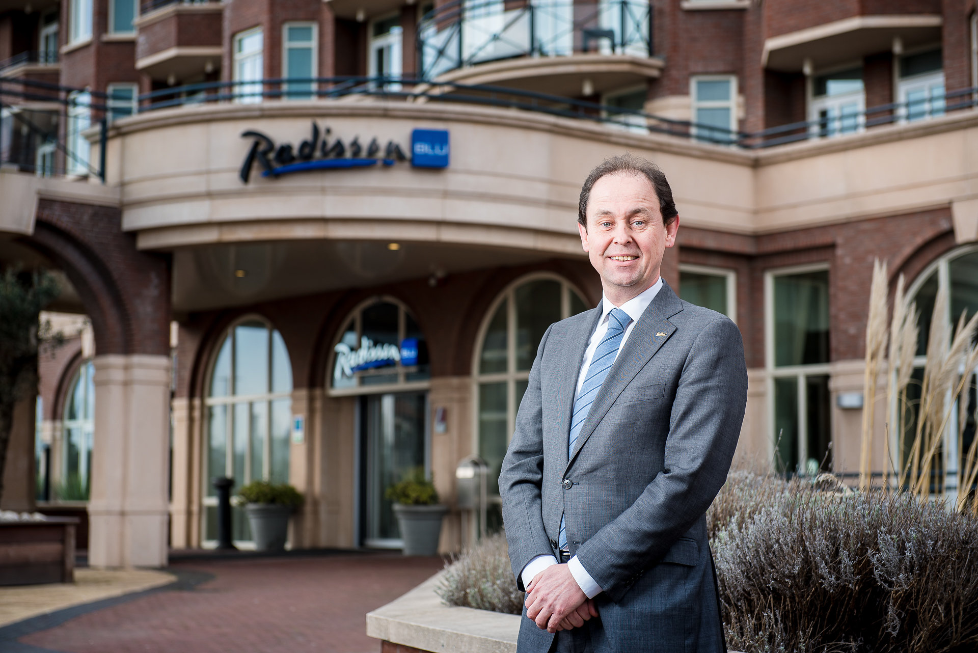 André Aaij  General Manager Radisson Blu Palace Hotel & ibis Styles Haarlem City Hotel