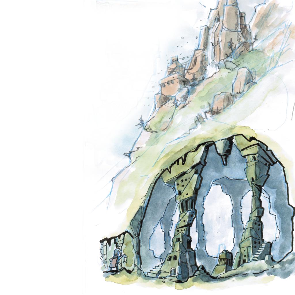 Ritter Schweinkopf im Reich der Murmelmönche - Ritter Schweinkopf hatte schon allerhand gehört von den unterirdischen Tempeln der Murmelmönche doch was er zu sehen bekam hätte er sich nicht erträumen lassen.