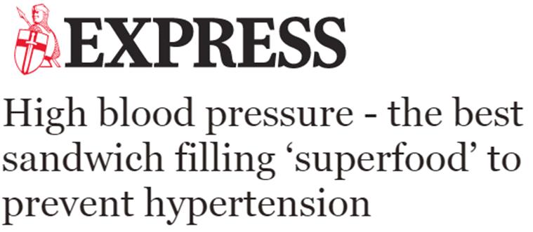 Alta presión arterial – el mejor superalimento para prevenir la hipertensión