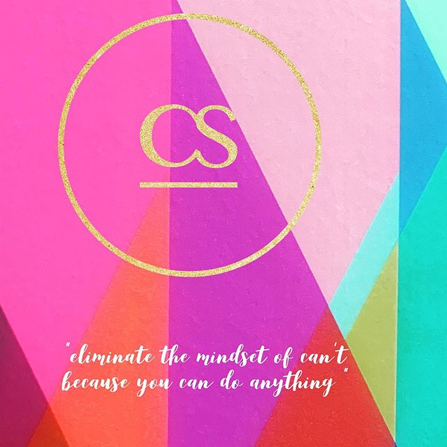 """Eliminate the mindset of can't because you can do anything if you believe it enough "" #socialites #wecan"