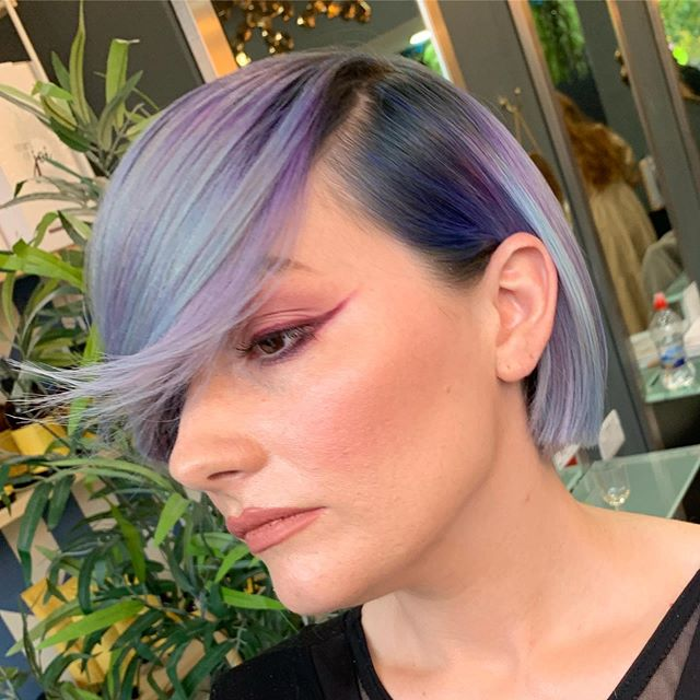 When two socialites collaborate magic happens how stunning is this colour by @seanlostymooney_cs  and finish by @katrinakellyeducation on our awesome model @kelly_cut_social  #weareartists #realhair #nofilter #perfectfinish