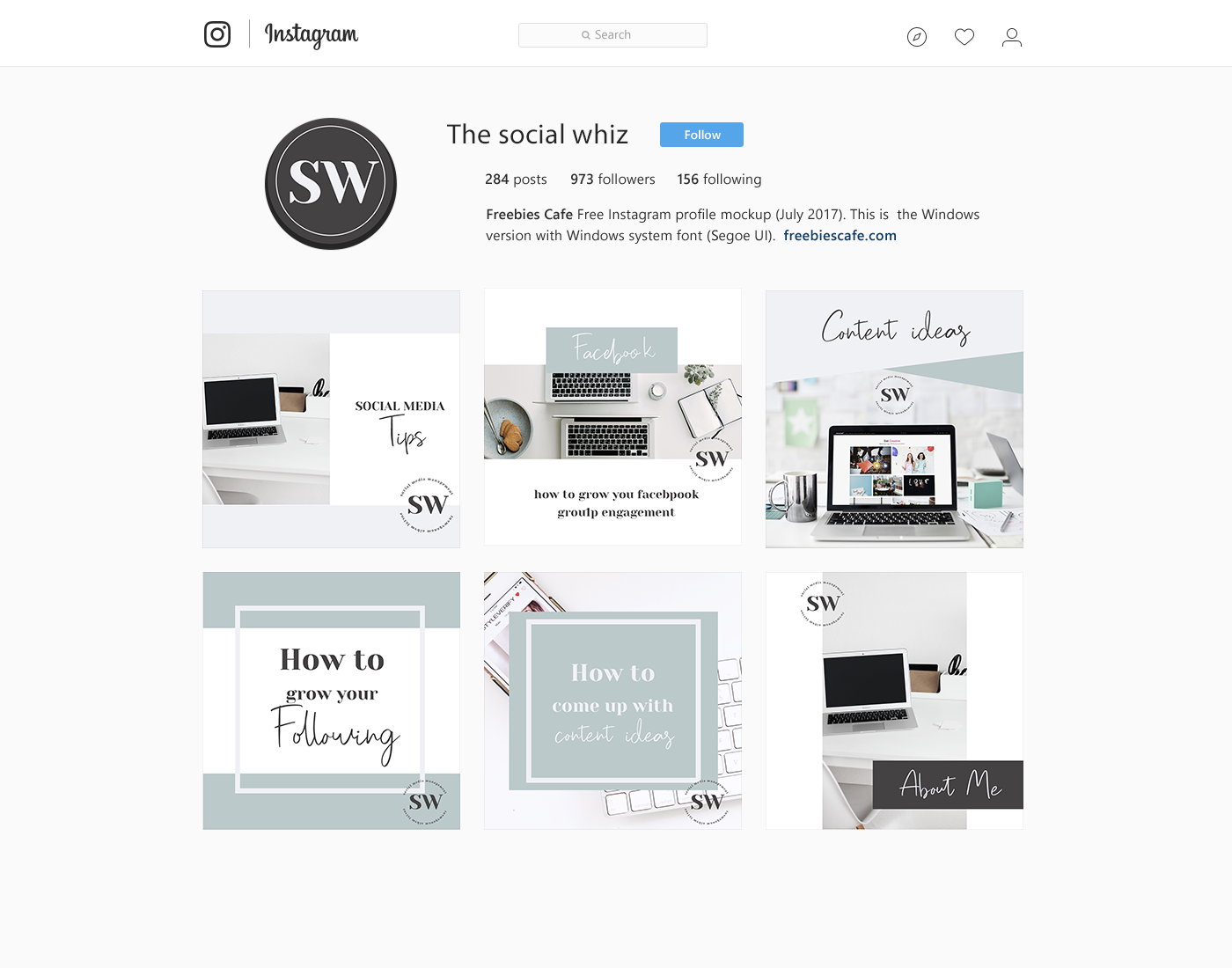 the social whiz instagram feed design.png