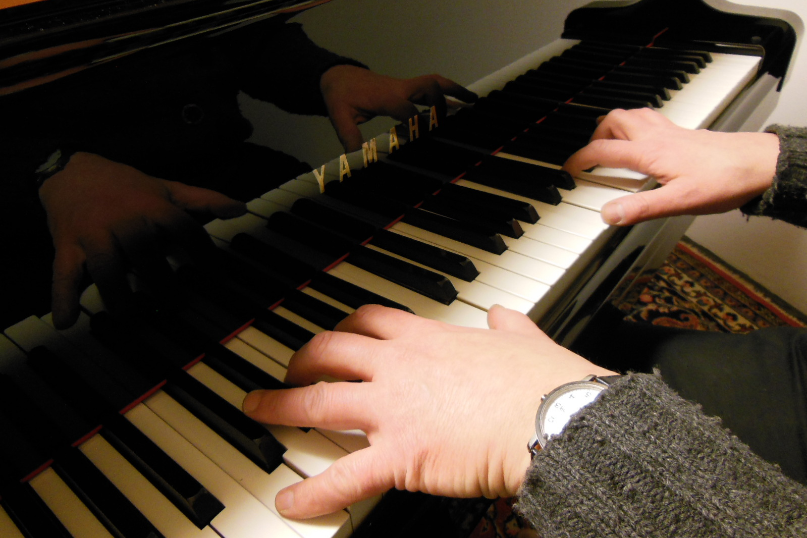 Klavierunterricht für Berufstätige - Klavierspielen als Hilfe zur Entspannung vom Alltagsstress-Sich Zeit nehmen zum Träumen