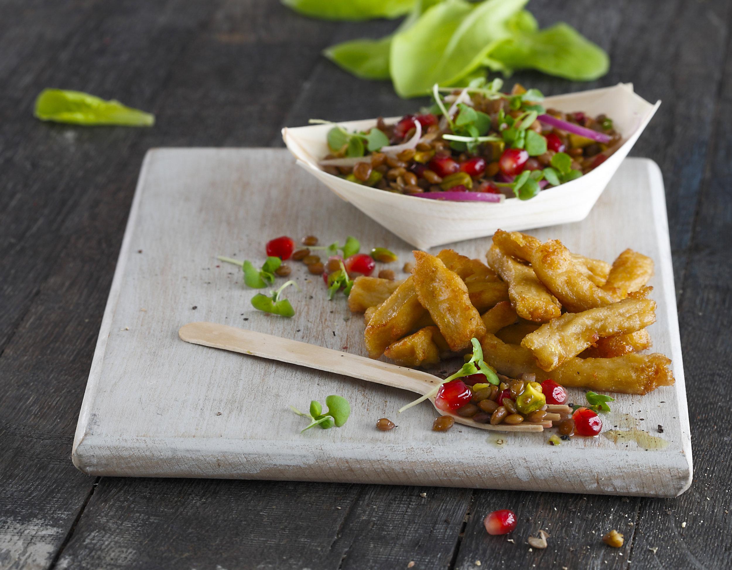 Veganuary: Sweet Chilli Chicken Salad