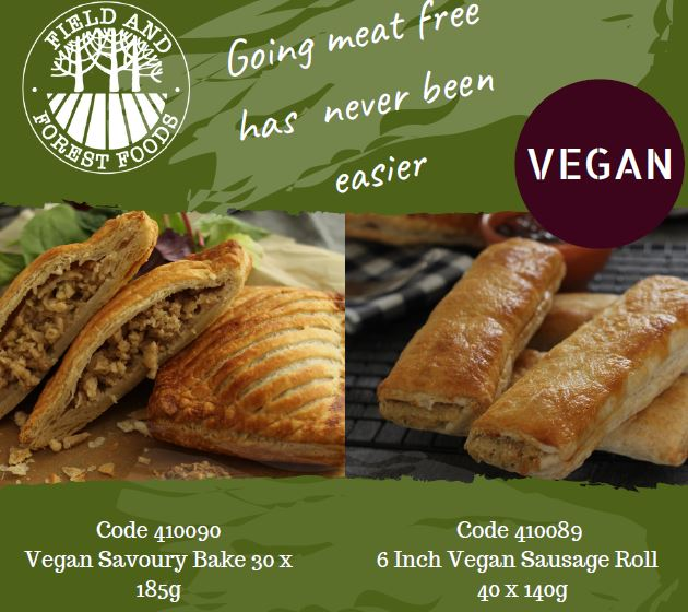 Going Meat Free Has Never Been Easier! - Delicious vegan sausage rolls and savoury bakes!