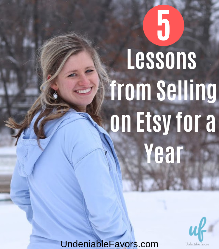 Lessons from Selling on Etsy