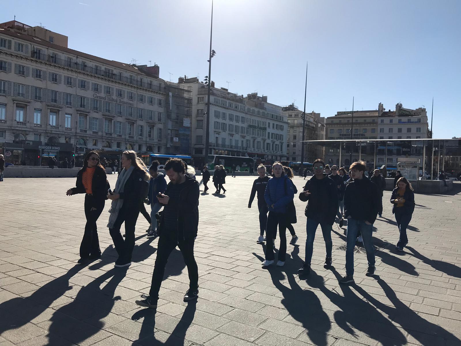 På sightseeing i Marseille mars 2019