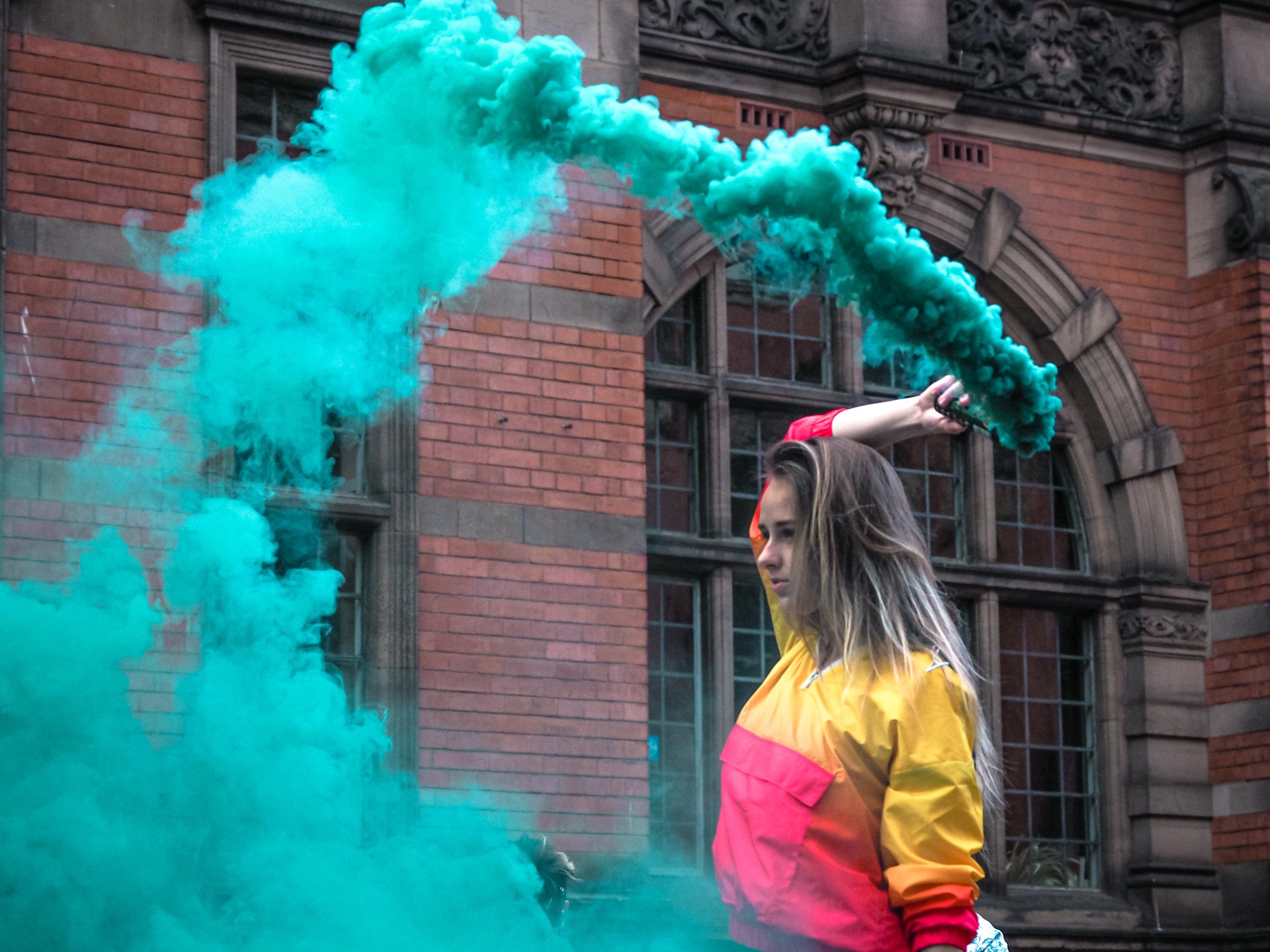 Margarita smoke whip