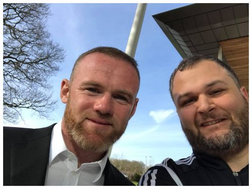 MLS and England legend Wayne Rooney meets NGI Squad on recent tour