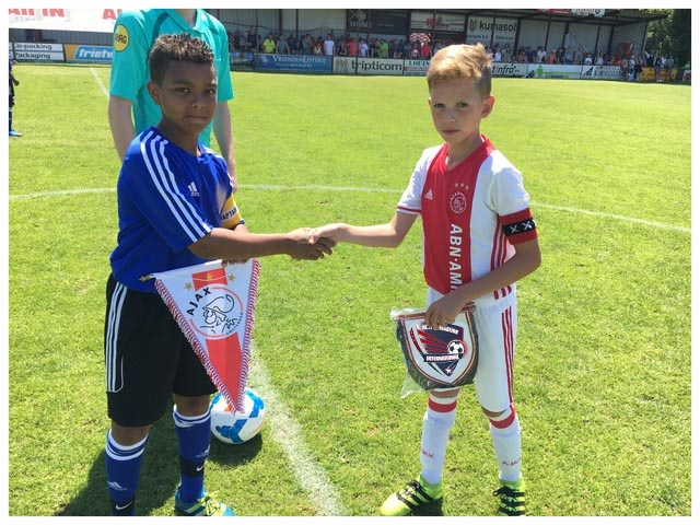 Pre Match against Ajax at Roodwitt Holland
