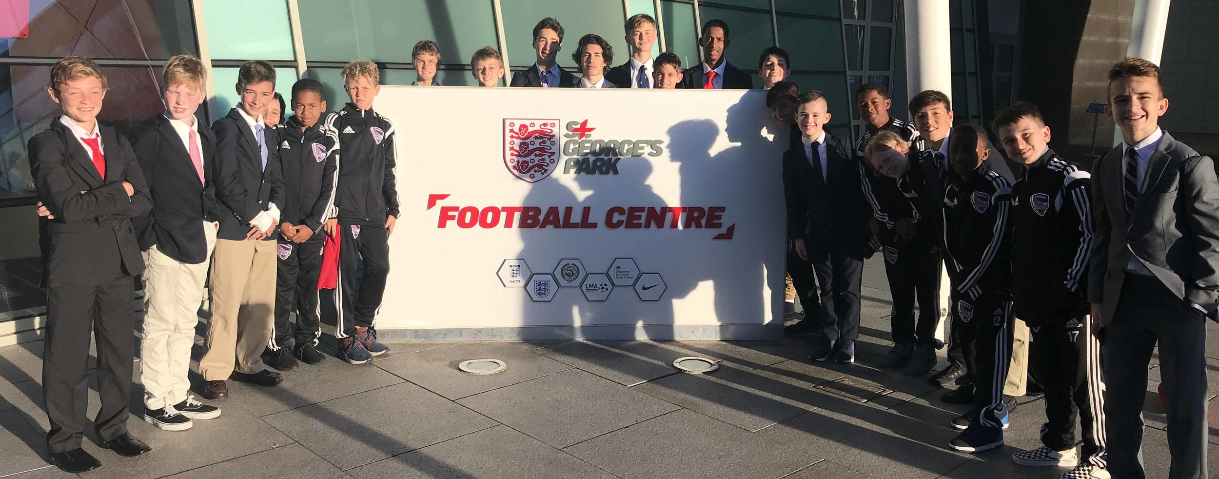 The NGI Squad at St Georges Park 2019