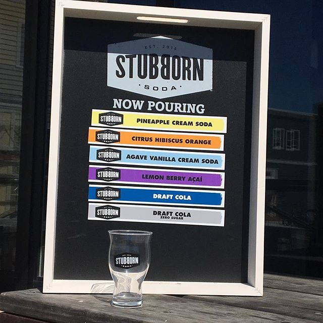 Stop in and check out our new line of delicious crafted sodas at Frontager's! Containing no high fructose corn syrup, Stubborn Soda is made with high quality ingredients, including fair trade certified cane sugar, and no artificial colors, flavors, or sweeteners. #morethanpizza #seabrookwa #pnw #stubbornsoda #graysharborliving