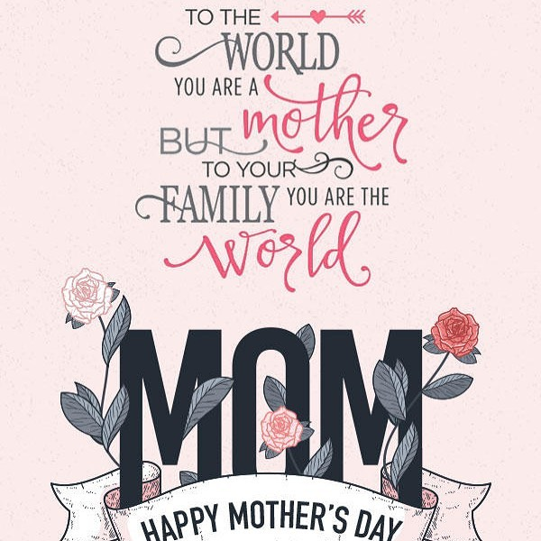 To all you super mom's out there we love you and celebrate you today and everyday!!