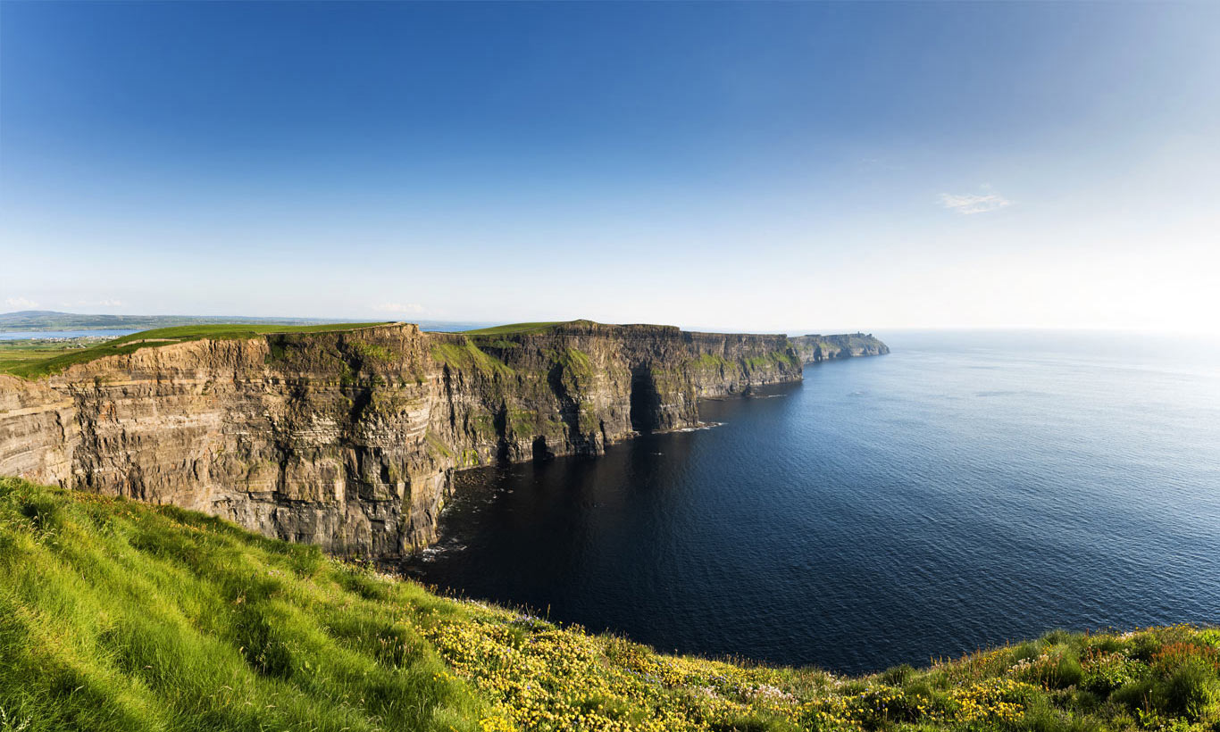 Cliffs of Moher, Burren, County Clare, Ireland. - 4 Hours from Dublin
