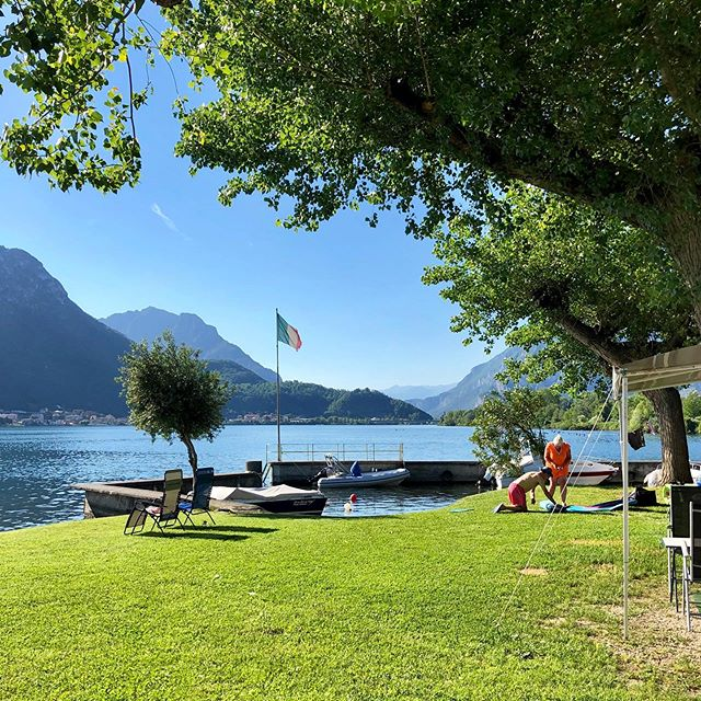 Sunday😍 #camping #campingrivabella #lecco #lake #mountains #lakeofcomo #italy #lagodicomo #campeggio #lakecomostyle #lakecomoexplore #tourism #como #summer #campingplatz #vacation #tourist #instapassport #mytravelgram #travel #lagodicomo