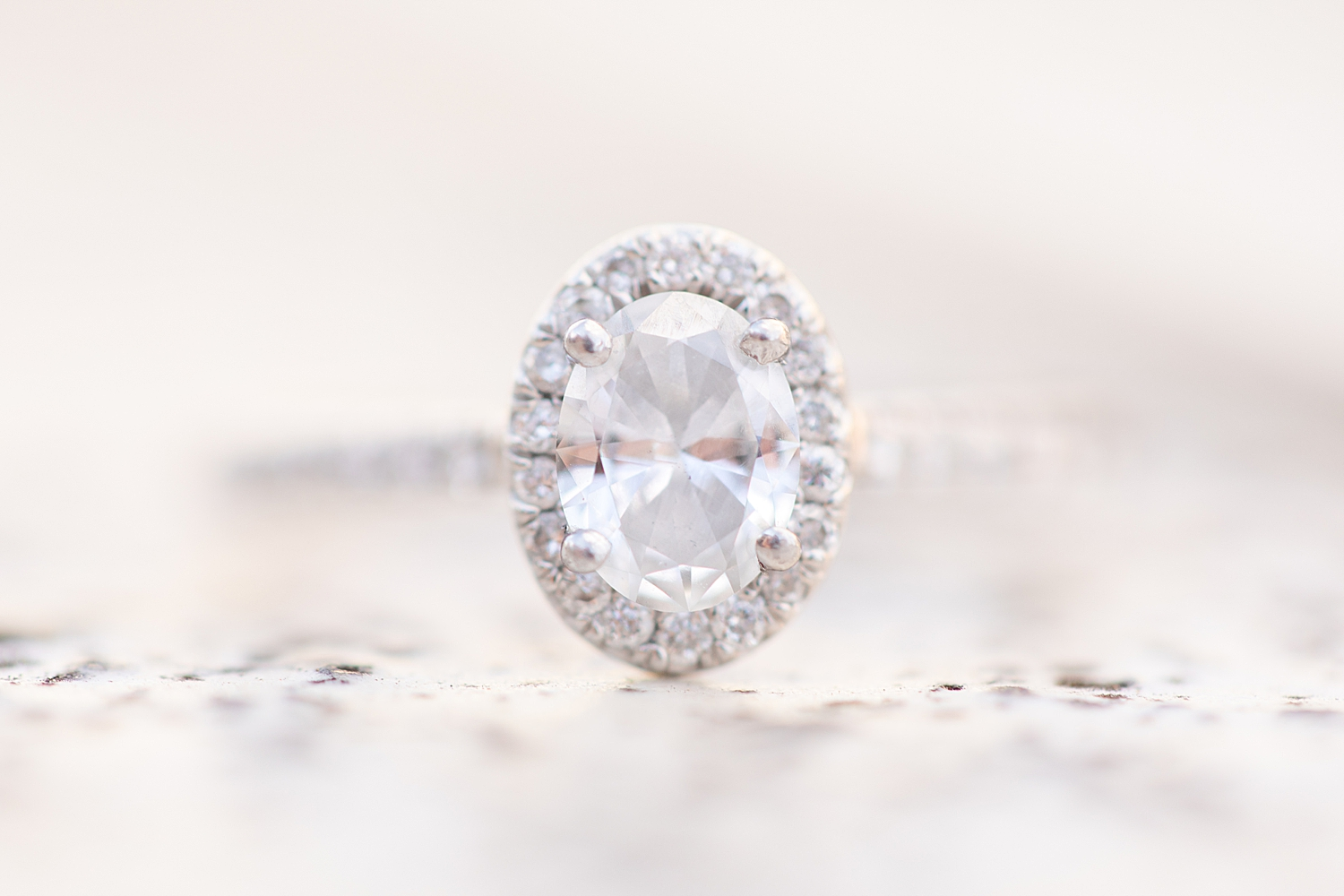 LOVE this oval ring! Whoa!