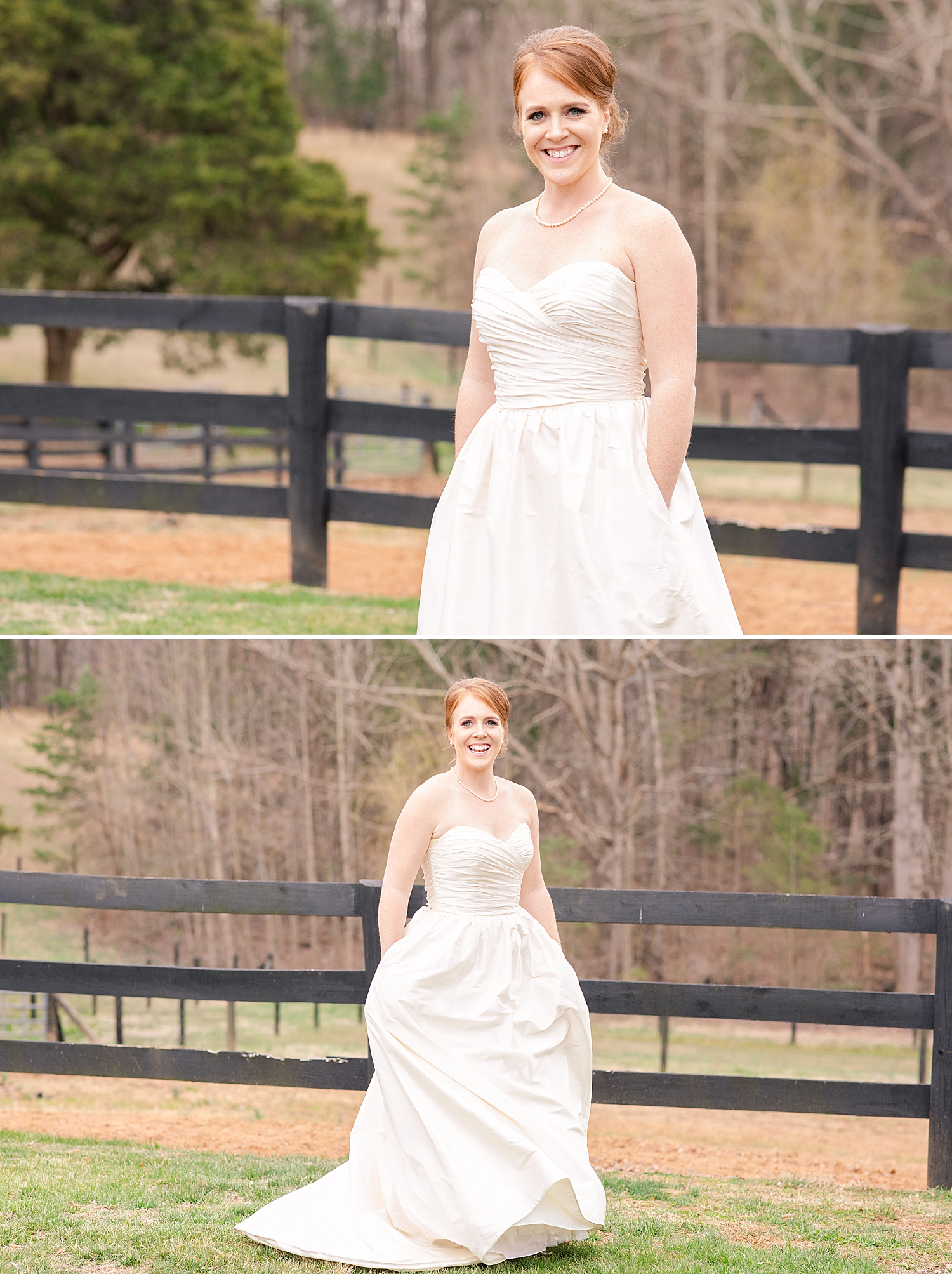 Wedding dress with pockets are my favorite thing!