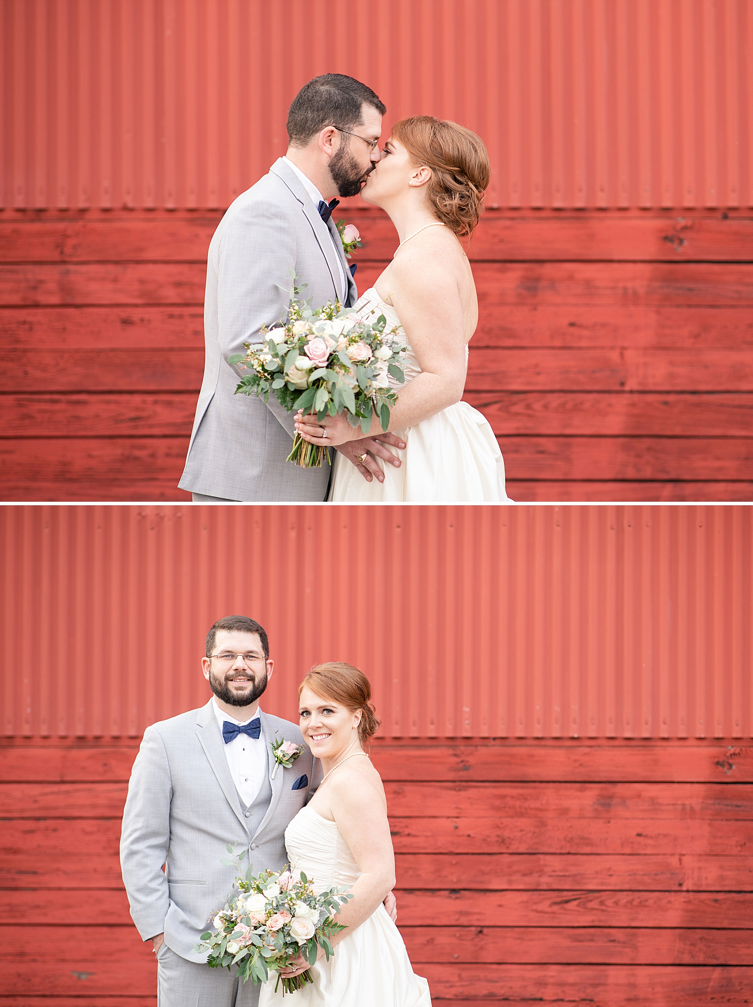 These two love their red barn wall photos!! I have to say it was another great spot for their portraits!!