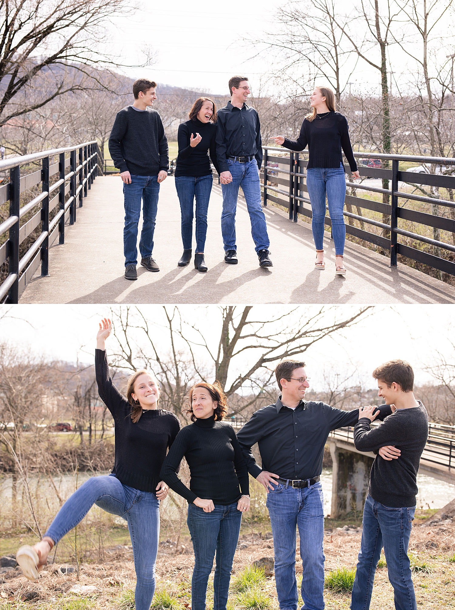 I had to include this fun personality shot! I told you they are the perfect blend and crazy and calm! So funny!