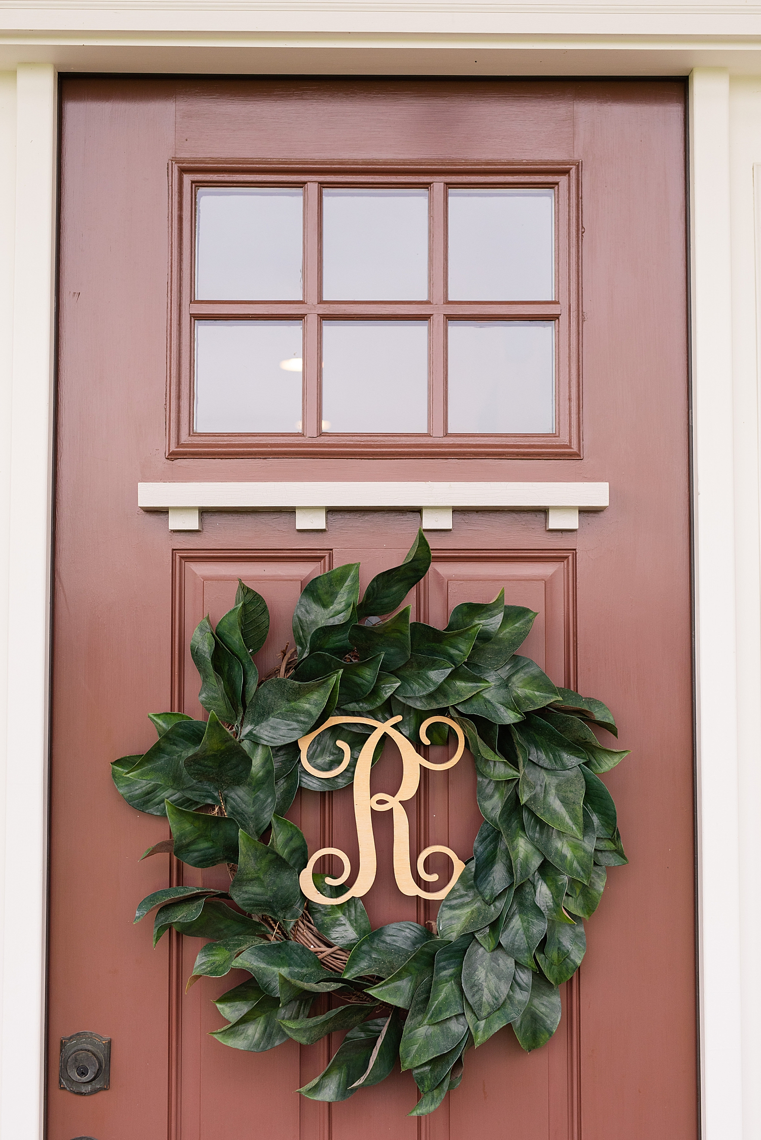 I loved their front porch! It is just so welcoming and beautiful!
