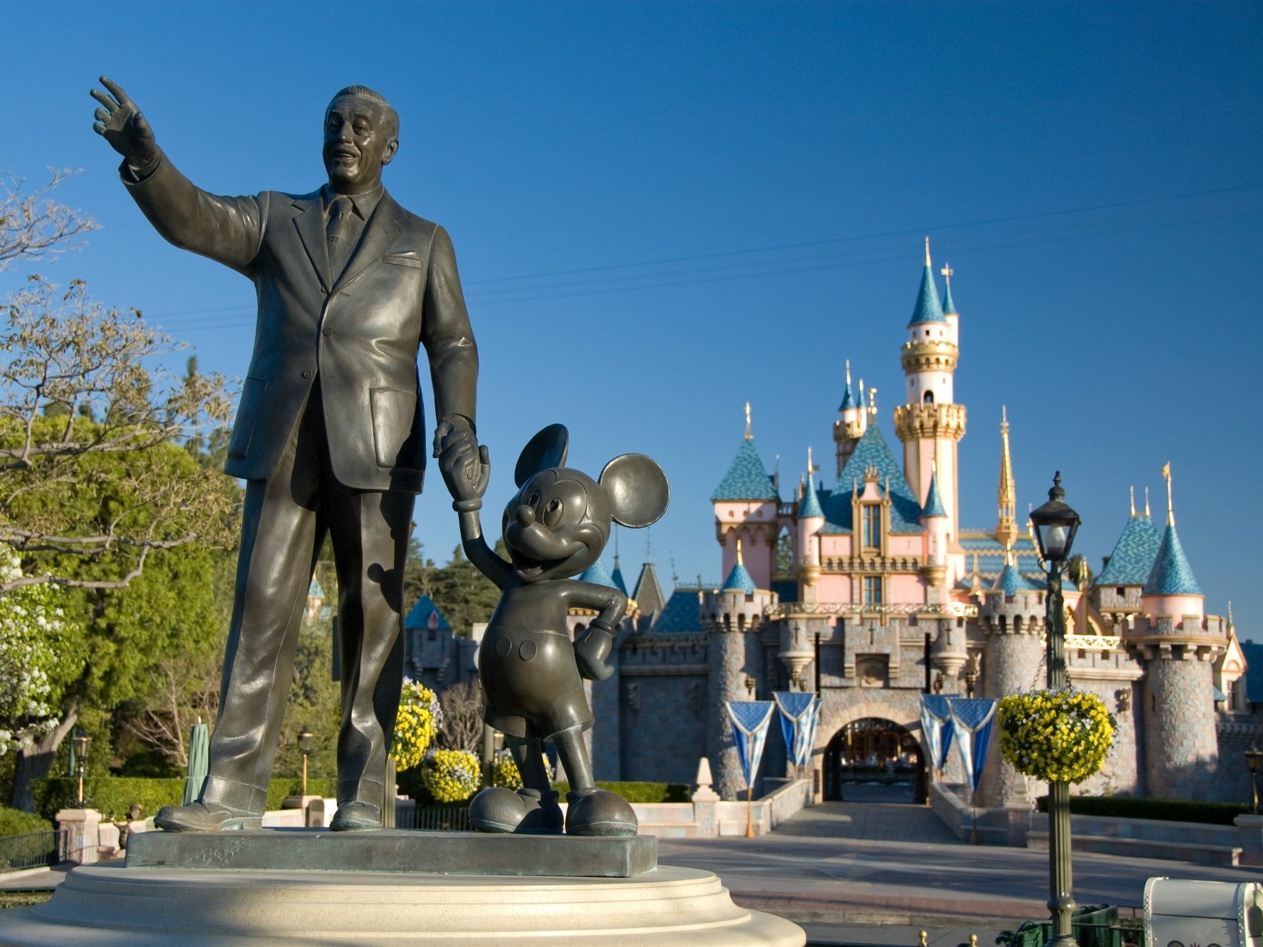 DISNEYLAND Resort (California) - The Happiest Place on Earth includes two theme parks, three on-site resort hotels, and its own shopping, dining, and entertainment district.