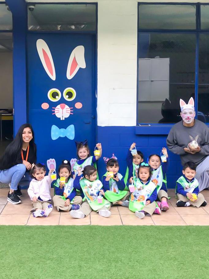 Celebración de Easter Pre Primaria - Abril