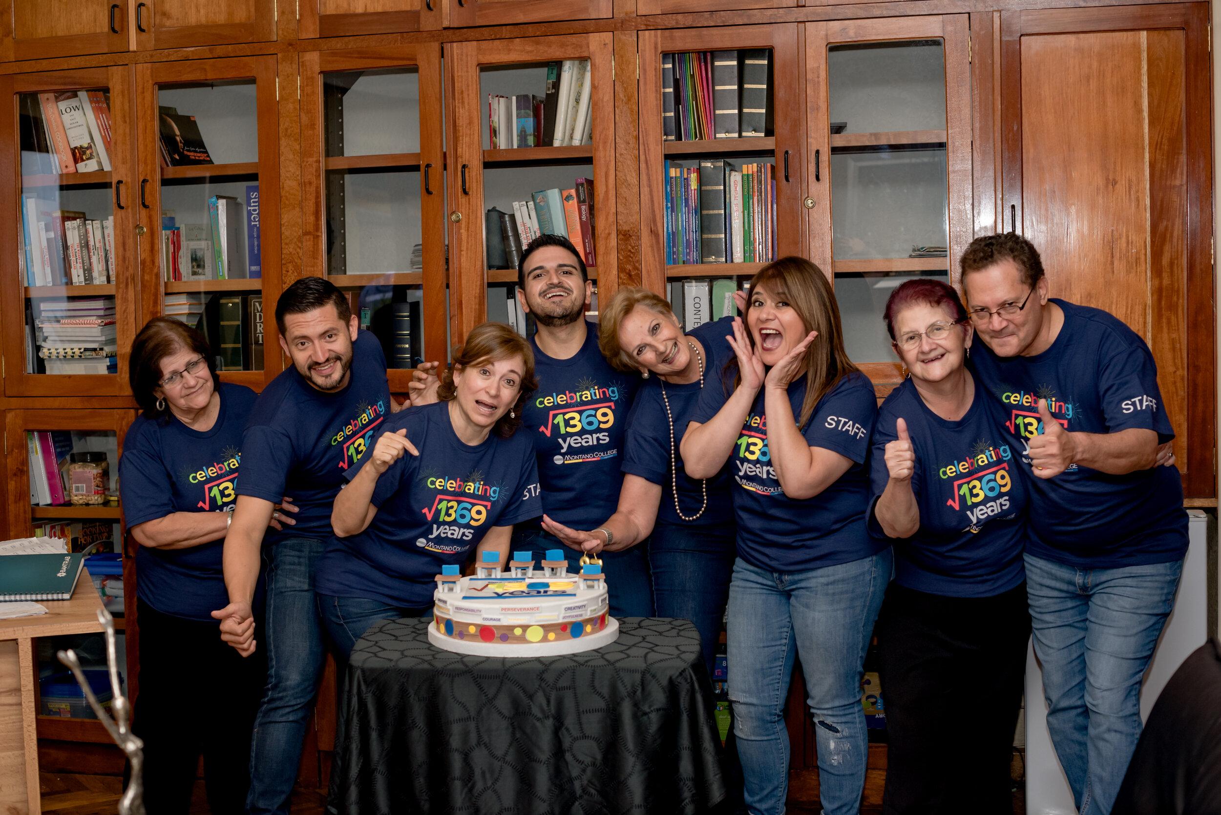 Celebrando 37 años de Montano College!