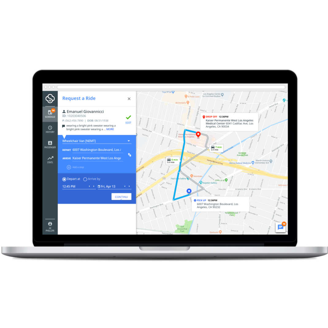 ride booking platform - Our ride booking platform provides you with flexibility to schedule your own rides in advance or on demand. Simply enter your member ID and you can track your current benefit usage, book a ride in a few easy steps, and monitor the status of your ride.