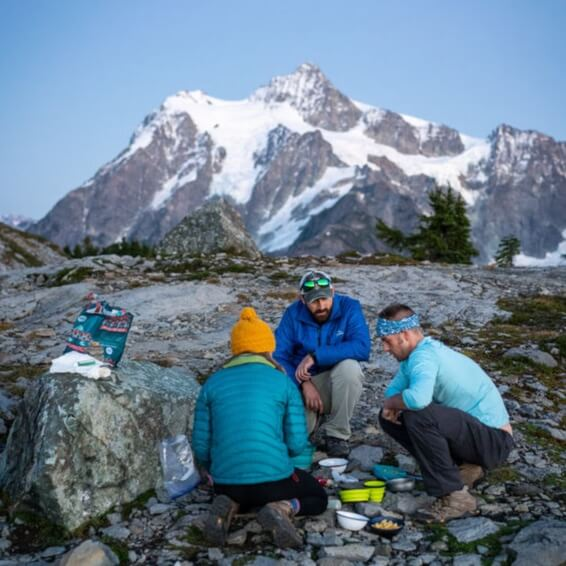 Chef Corso, easy, best hiking, camping, backcountry, picnic meals, recipes.